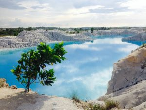 Danau Kaolin Belitong Enjoy